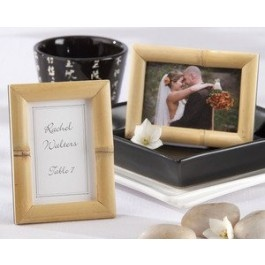 Breezy Bamboo Eco-Friendly Photo Frame Place Card Holder