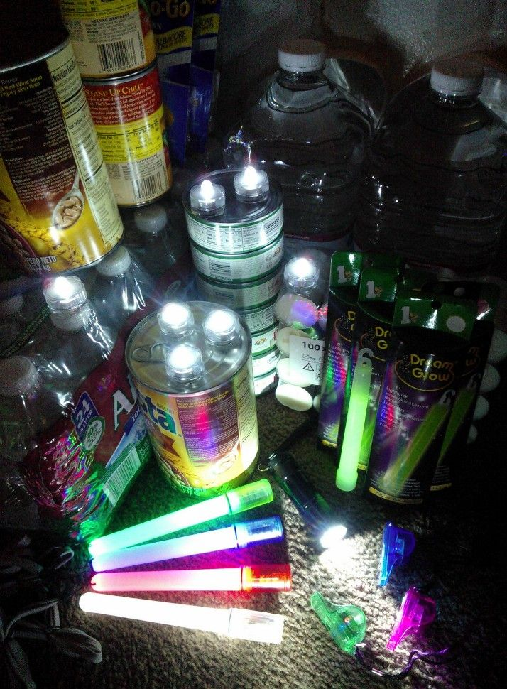 Make an LED survival kit NOW, in case of emergency later! Fascinating video here of the New York City power outage post Hurricane Sandy...