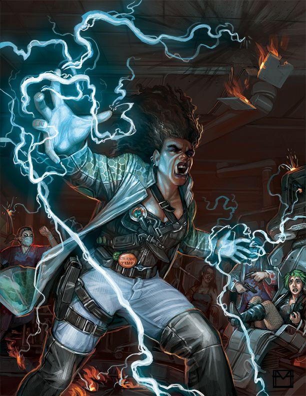 Shadowrun: Serrated Edge cover by Alyssa Menold