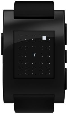 Pebble and Kreyos, Interface, watch, design, infiormation, time, reduced, structure