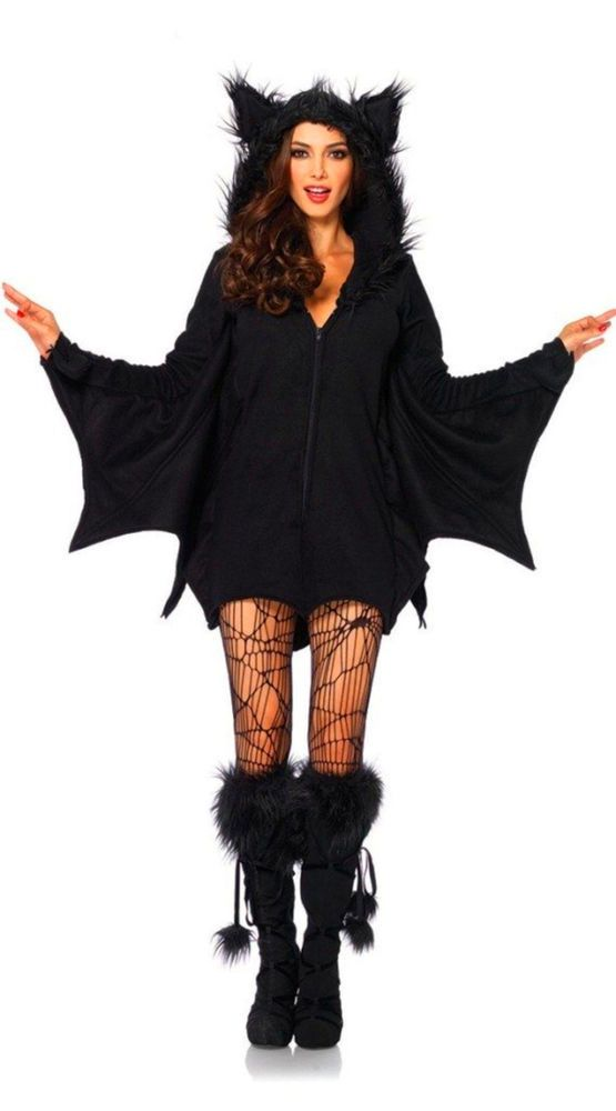 YISABELL Women's Cozy Bat Costume M halloween costume 2 Days Ship free shipping! | Clothing, Shoes & Accessories, Costumes, Reenactment, Theater, Costumes | eBay!