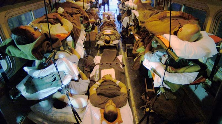 Hope for wounded soldiers from the mouth of a veteran who is/has been in their shoes
