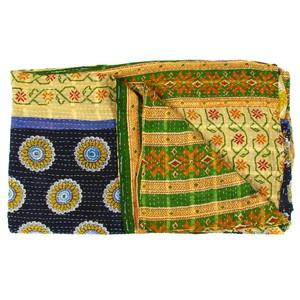 Vintage Sari Throw Panaji now featured on Fab.