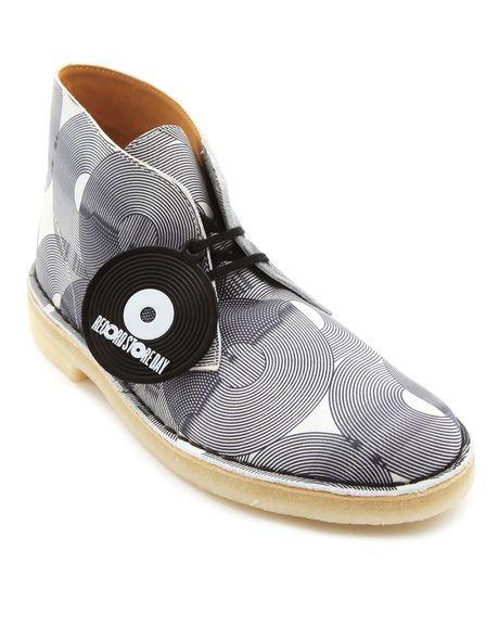 Desert boots en tissu imprim  x Jaguarshoes Original