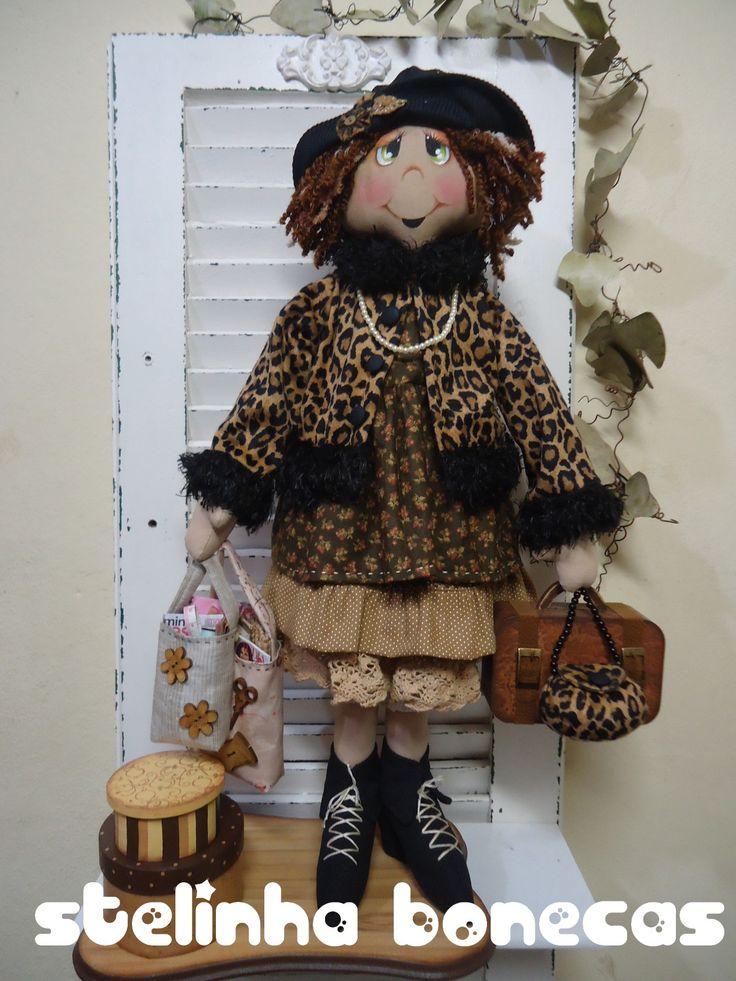 Мастер кукольник из Перу Stelinha Bonecas (Стелинха Бонекас) - куклы текстильные. Обсуждение на LiveInternet - Российский Сервис Онлайн-Дневников