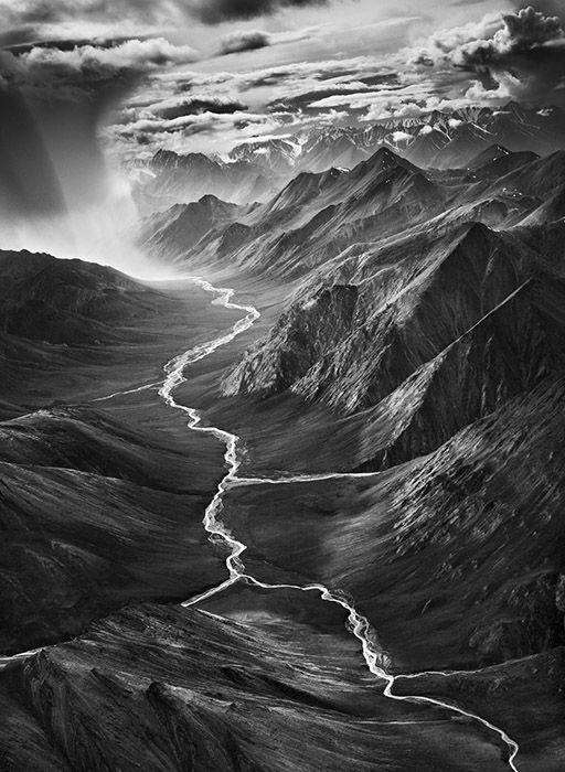 Sebastião Salgado / Gênesis  Terra Norte Estados Unidos - Alasca O Refúgio Nacional da Vida Selvagem no Ártico cobre seis áreas ecológicas e estende-se por cerca de 300 quilômetros. Alasca. 2009