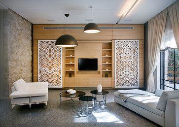 Y005 - contemporary - living room - tel aviv - yoma architects studio