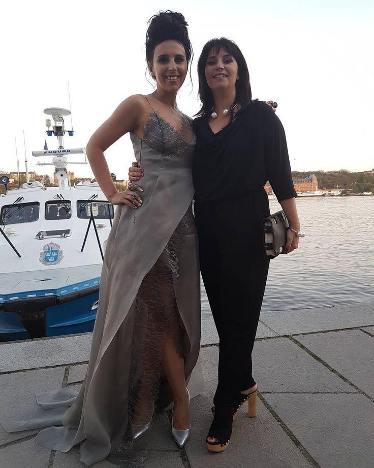 With my sister Evelina #джамала #jamala #eurovision #jamala1944 #sweden #eurovision_ukraine #cometogether by jamalajaaa #Eurovision #Eurovision2016
