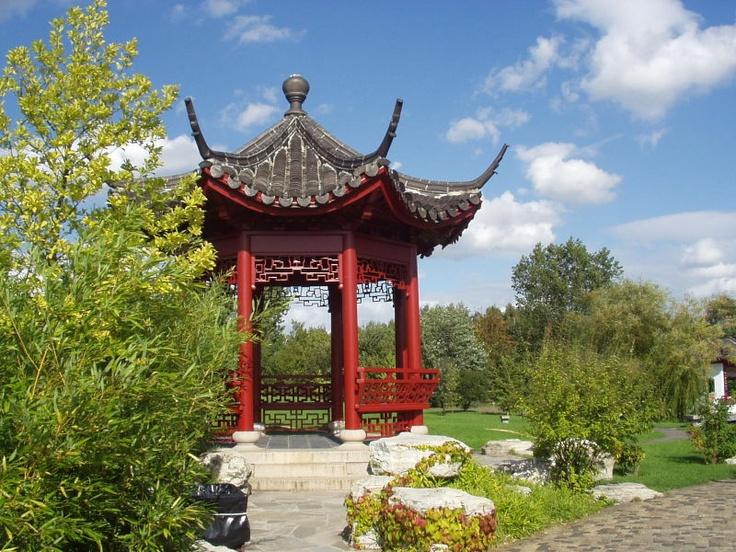 Asian garden, Berlin, Germany