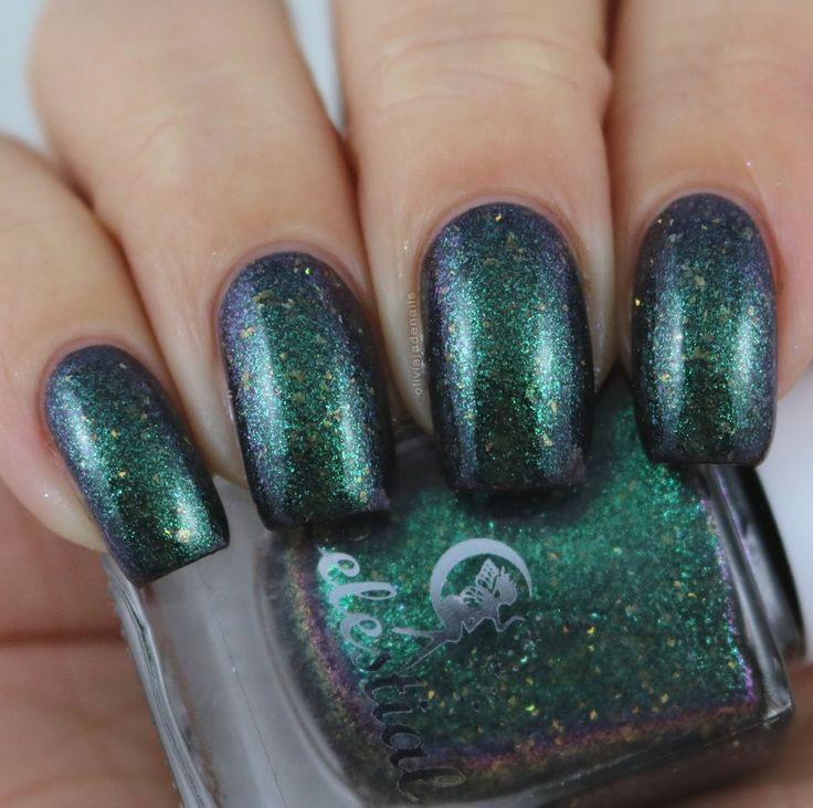 Celestial Cosmetics The Coat Hanger swatched by Olivia Jade Nails