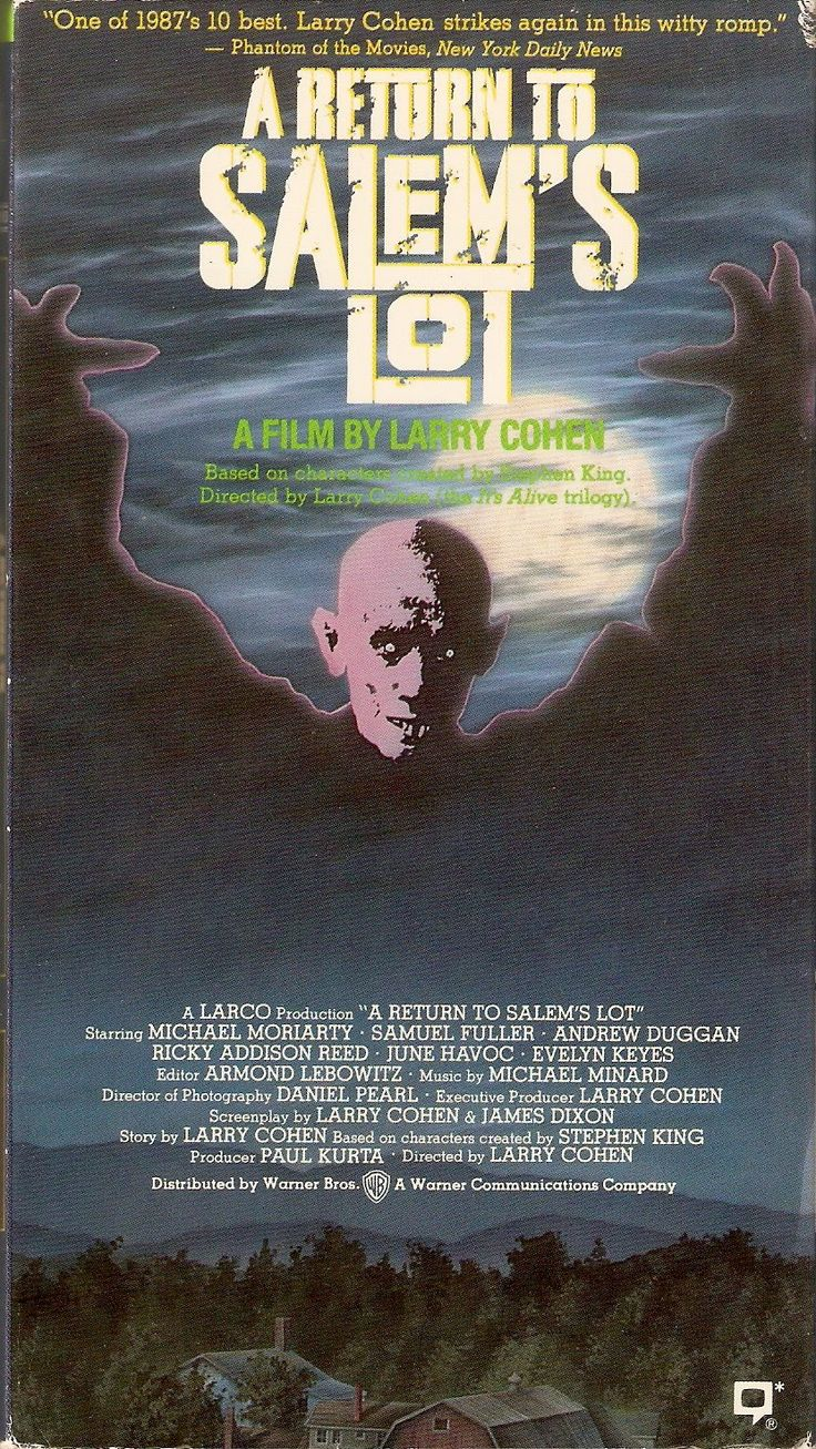 A Return to Salem's Lot VHS