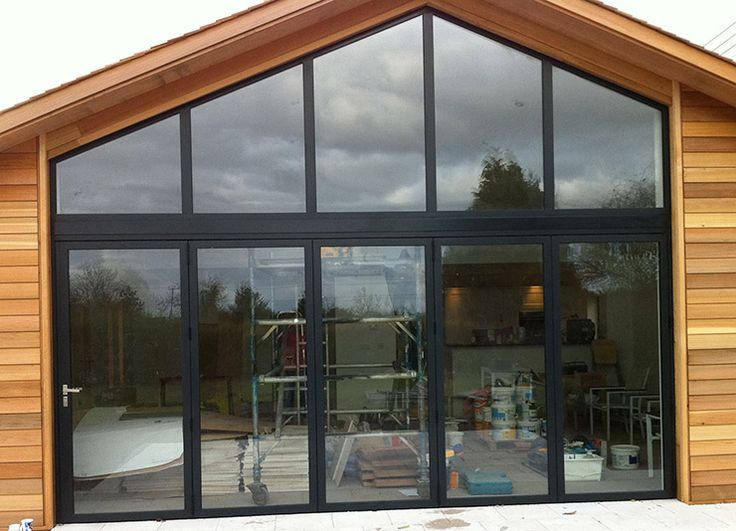 Triangle Folding Doors : Images about glazed gables on pinterest aluminium