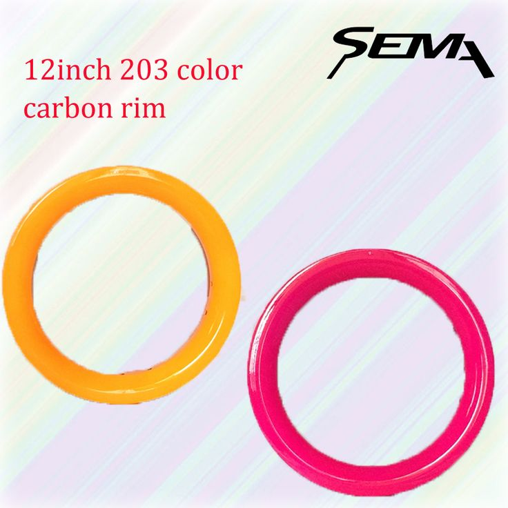 ==> [Free Shipping] Buy Best sema color carbon rim 12inch 203 balance bicycle cheap rims 30mm width 10 hole gold white red black orange pink blue Online with LOWEST Price | 32805711818