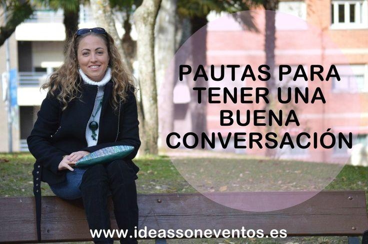 Cuando conocemos a alguien tenemos que mostrarnos amables, sonrientes y hacer que la otra persona se sienta bien pero ¿sabes cómo mantener una buena conversación con un desconocido? http://bit.ly/1RRujol  #ideassoneventos #PautasTenerBuenaConversacion #Conversacion #TenerBuenaConversacion #protocolo #protocolosocial #EducacionSocial #ComoTenerUnaBuenaConversacion #eventossociales #HablarEnPublico #formacion #emprendedoraonline #ideas #actossociales #personalshopper #weddingplanner…