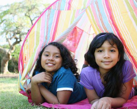 Girl scout sleepaway camp looks much
