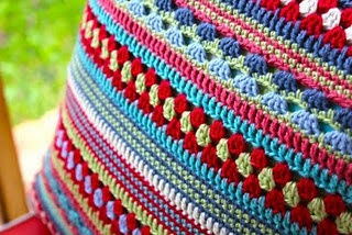 Crochet. This lady is not only the most talented in colorful crochet, her writing is finny & entertaining! WONDERFUL SITE.