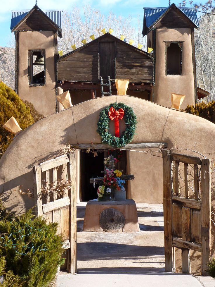 Santuario de Chimayo- on the high road to Taos, north of Santa Fe, NM #travel #newmexico #santuariodechimayo