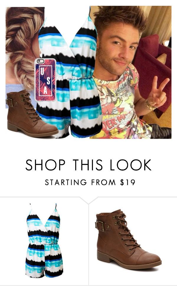 """""""Hanging out with Drew Chadwick!"""" by carmellahowyoudoin ❤ liked on Polyvore featuring Chicnova Fashion, Casetify, emblem3 and drewchadwick"""