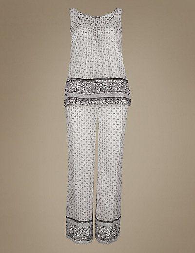 Pure Modal Foulard Pyjamas | M&S