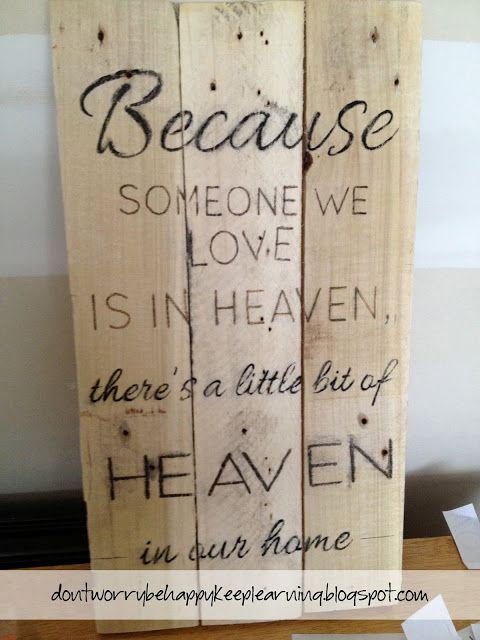 DIY wooden sign. Step by Step. Don't worry. Be happy. Keep learning.