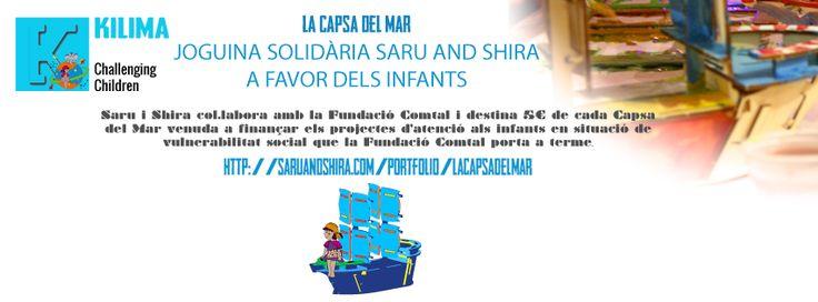Joguina Solidària Saru and Shira a favor dels infants.