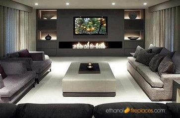 """my MOST FAVORITE fireplace insert so far ... Ethanol Fireplaces You can use one or two moda flame 39"""" inch ethanol burner inserts: http://www.ethanolfireplaces.com/Moda-Flame-39-inch-Indoor-Outdoor-Bio-Ethanol-Fireplace-Burner-Insert_p_69.html July 28, 2013 at 8:23pm"""
