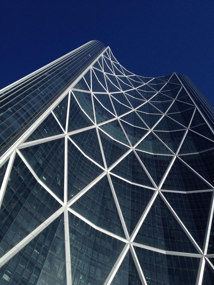 The Bow building. Skyscraper!