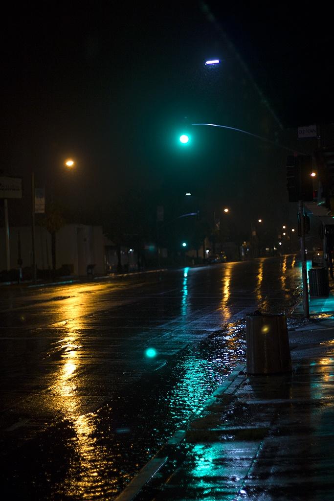 Rain + Night