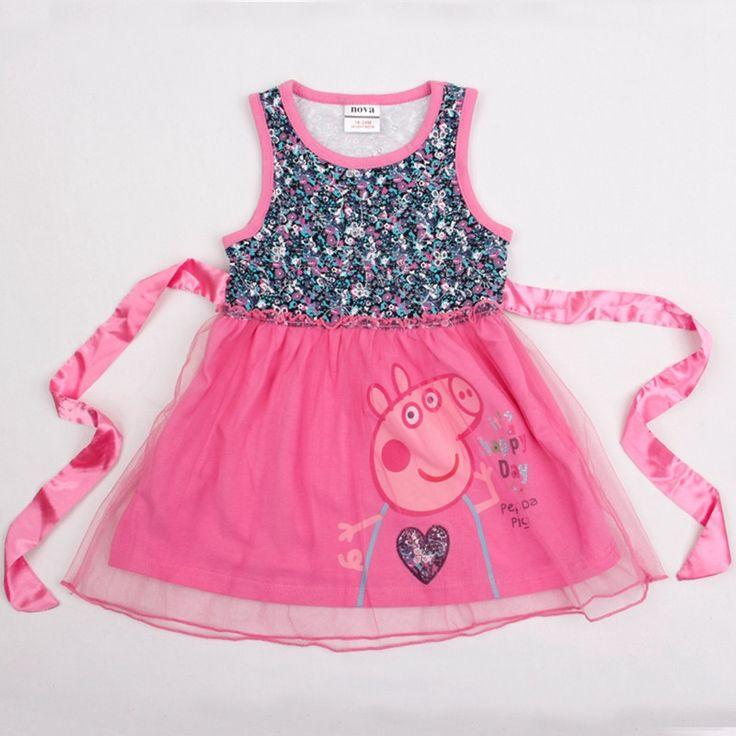 Cute Sprinkle Peppa Pig Dress