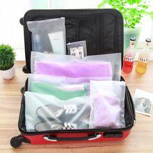 Coréia multifuncional bolsa de viagem sacos de armazenamento de roupas de plástico à prova d' água Sapatos saco de Roupas de Acabamento classificados(China (Mainland))