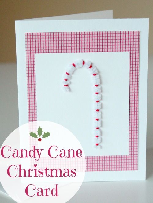Candy Cane #Christmas #Card makeandtakes.com #holiday #MichaelsStores