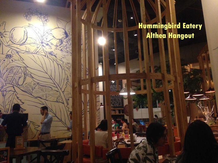 Resto : Hummingbird Decoration and Eating Place