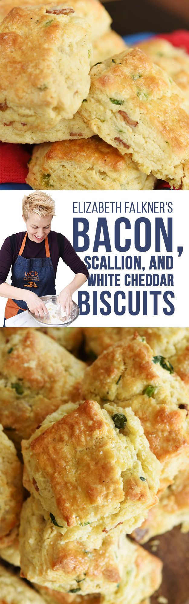 Chef E. F.'s bacon, cheddar biscuits..