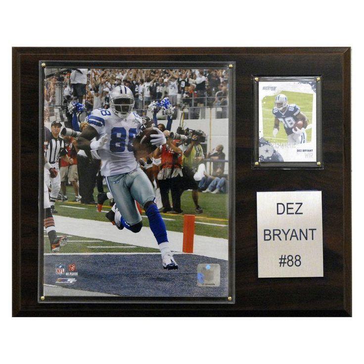 NFL 12 x 15 in. Dez Bryant Dallas Cowboys Player Plaque - 1215DEZBRY