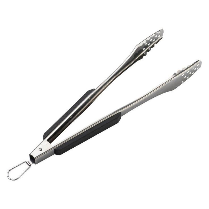Landmann USA Pure Series Stainless Steel Barbecue Tongs - 100602, Durable