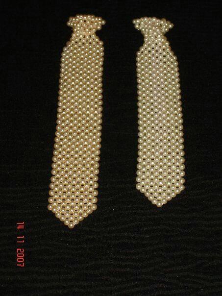 Corbatas en diferentes largos