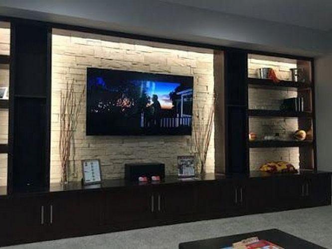 97 Good Tv Wall Design Ideas 93 Basement Living Rooms Modern