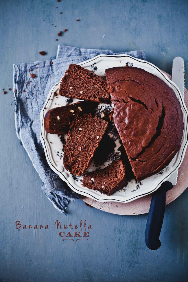 Banana Nutella Cake | Playful Cooking