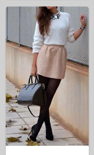 Fall date outfit. I prefer scoop neck or v neck tops though