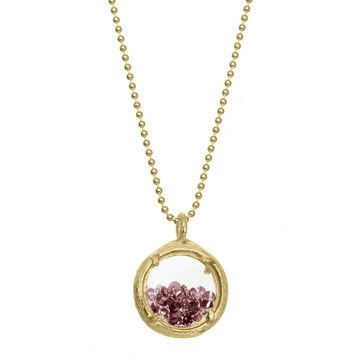 Mini Shaker Necklace Vermeil, $90, now featured on Fab. #necklaces #jewelry