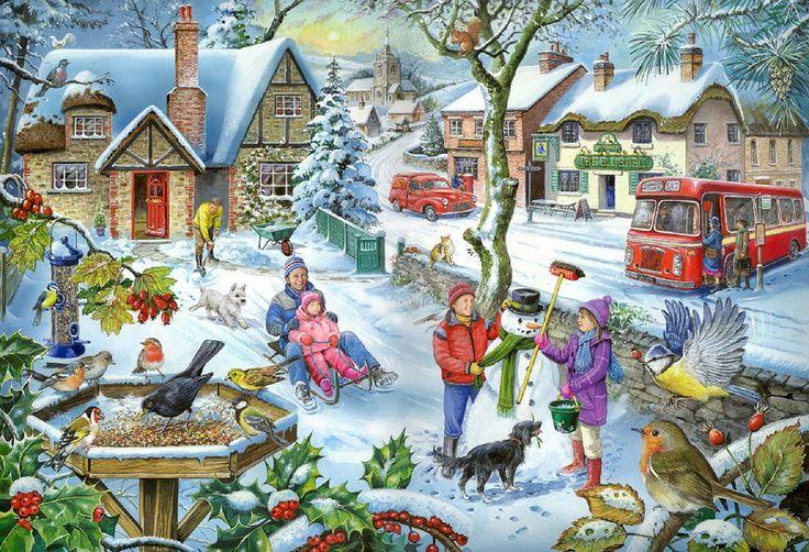 Картинки о зиме для детей 7-8 лет, февраля ватсап