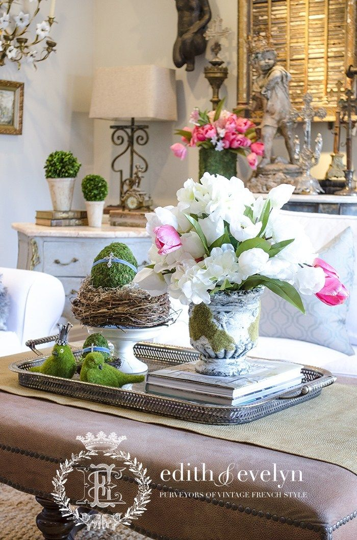 Styled Set Coffee Table Vignettes Spring Coffee Coffee Table Arrangements