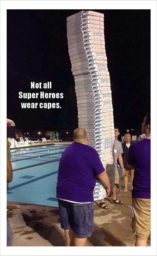 MY PIZZAS BRING ALL DEM PPLS TO THE POOL