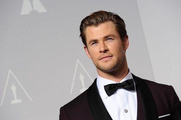Chris Hemsworth | 21 Male Celebrities All Straight Men ...