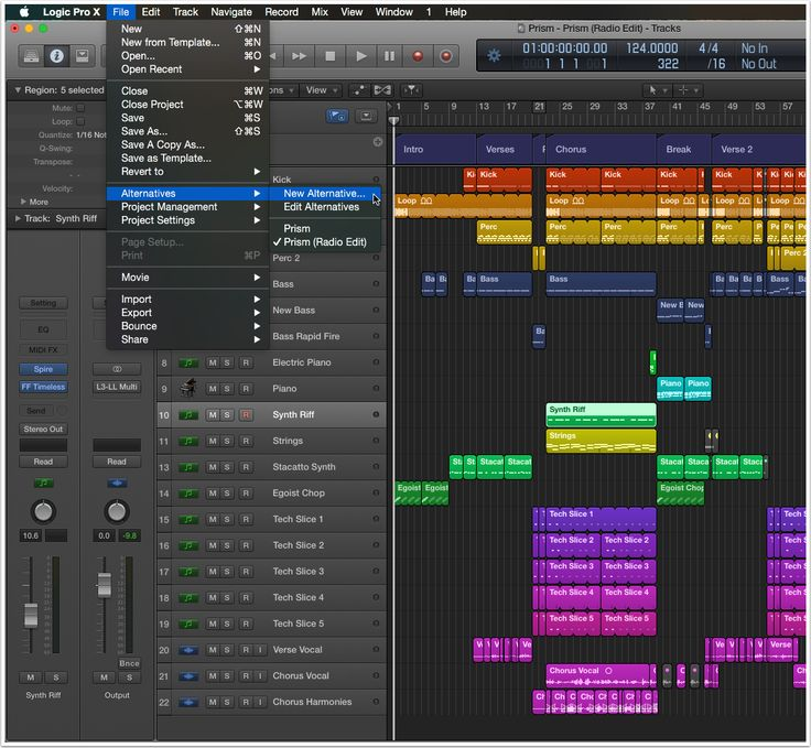 10 Sequencing And Arranging Tips For Logic Pro X The Composition Of A Musical Piece While Strenuous Is Exciting Fulfilling Hobby Job Mine