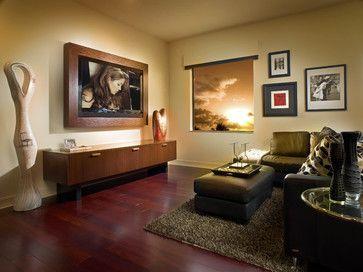 Adelson - contemporary - media room - detroit - Jeffrey King Interiors