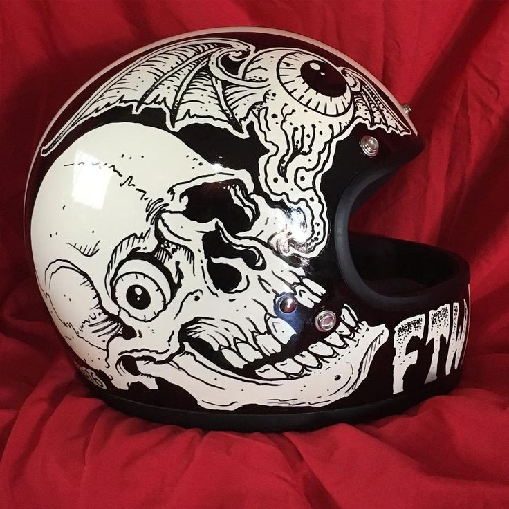 1456 best motorcycle helmets images on pinterest hard for Ben corn tattoo