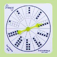 Ten Frame Spinner