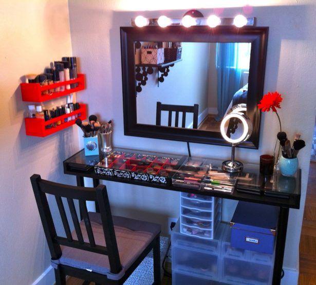 Bedroom:Awesome Makeup Vanity Set Ikea Makeup Vanity Set Bed Bath And Beyond Bedroom Vanity With Lights For Sale