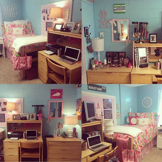 Phi Mu House #gcbestdressedroom @gcstudentlife Georgetown College  Residential Hall Dorm Room Part 77